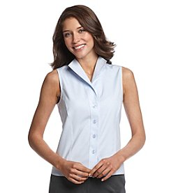 Jones New York Collection® Sleeveless Easy Care Shirt