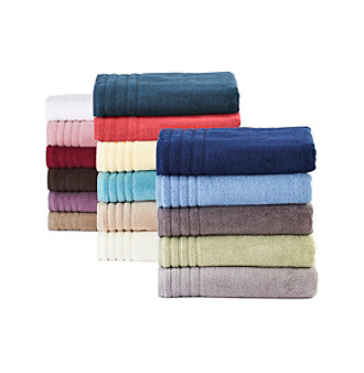 LivingQuarters Perfect Performance Bath Towel Collection