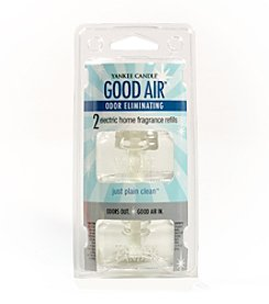 Yankee Candle® Good Air Electric Home Air Fragrance Refill Twin Pack - Just Plain Clean
