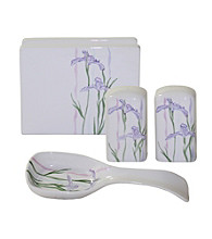 Corelle® Shadow Iris 4-pc. Hostess Set