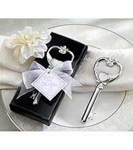 Kate Aspen Key To My Heart Victorian Style Bottle Opener - Set of 12