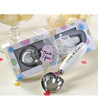 Kate Aspen Scoop of Love Heart-Shaped Ice Cream Scoop in Parlor Gift Box - Set of 6