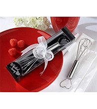 Kate Aspen Whisked Away Heart Whisk - Set of 18