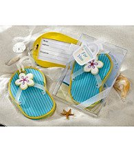 Kate Aspen Flip-Flop Luggage Tag with Gift Box - Set of 12
