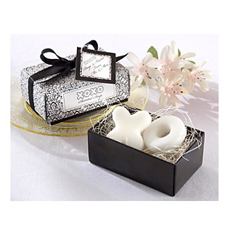 "Kate Aspen ""Hugs and Kisses From Mr. and Mrs."" Scented Soaps - Set of 18"