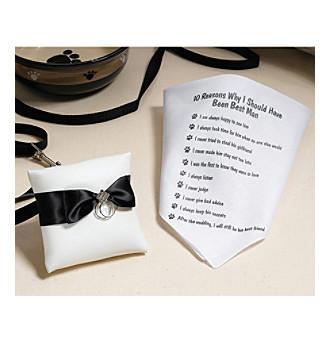 Lillian Rose® Dog Ring Pillow