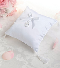 Lillian Rose® Plain White Satin Ring Pillow