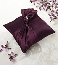 Lillian Rose® Plum Purple Ring Pillow
