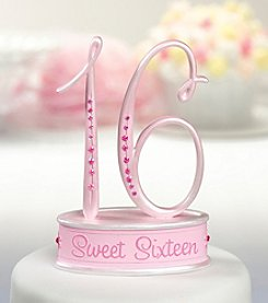 "Lillian Rose® ""Sweet Sixteen"" Caketopper"