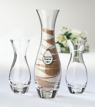 Lillian Rose® 3-pc. Unity Sand Glass Vase Set