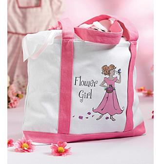 Lillian Rose WG150 FG Flower Girl Nylon Tote