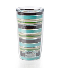 Fiesta® Dinnerware Tervis Tumbler® Blue Stripes Insulated Cooler