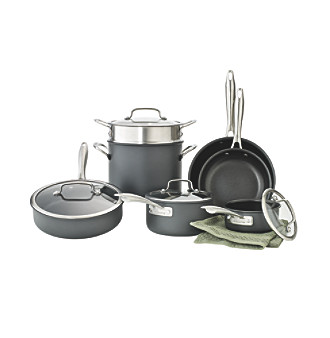 Cuisinart® Dishwasher Safe Hard-Anodized 11-pc. Cookware