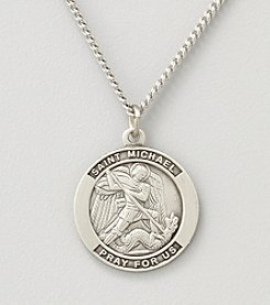 Sterling Silver St.Michael Pendant