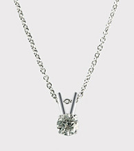 Effy® Collection 14K White Gold .25 ct. t.w. Diamond Pendant