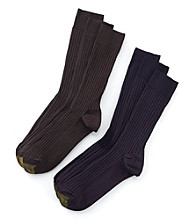 GOLD TOE® 3-pk. Men's Canterbury Socks