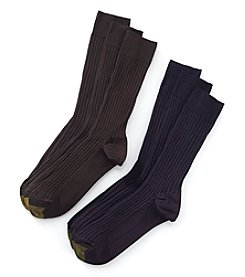 GOLD TOE® 3-Pack Men's Canterbury Socks