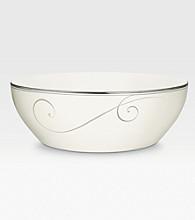 Noritake Platinum Wave Round Vegetable Bowl