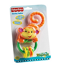 Fisher-Price® Monkey Teether Rattle