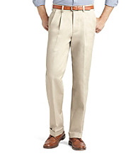 Izod® Men's Big & Tall Classic Fit Pleated American Chino
