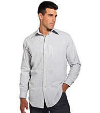 626 Blue® Men's Big & Tall Stripe Sport Shirt - Light Blue