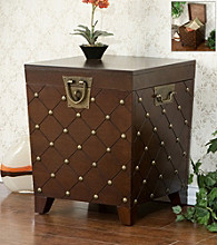 Holly & Martin™ Caldwell Espresso End Table Trunk