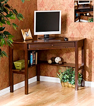 Holly & Martin™ Alexander Espresso Corner Desk