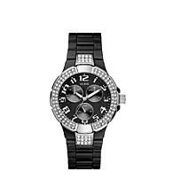 Guess Women's Black Prism Sports Watch