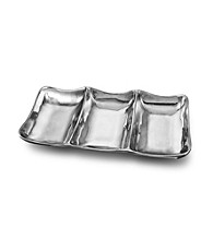 Wilton Armetale® Boston Divided Rectangular Tray