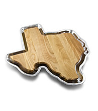 Wilton Armetale® Texas Cutting Board with Tray