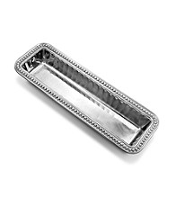 Wilton Armetale® Flutes & Pearls Collection - Cracker Tray