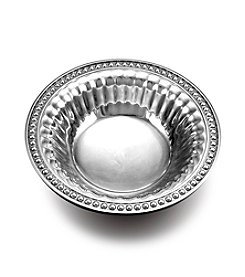 Wilton Armetale® Flutes & Pearls Collection - Snack Bowl