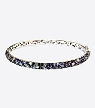 Effy® Sterling Silver Blue Multi Sapphire Bangle Bracelet