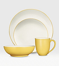 Noritake Colorwave Coupe Mustard 4-pc. Place Setting