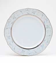 Noritake Regina Platinum Scalloped Accent Plate