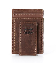 Levi's® Men's Card Case Magnetic Wallet - Brown