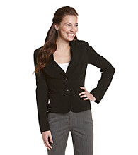 A. Byer Juniors' Two-Button Blazer Jacket