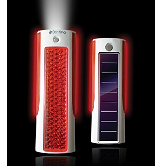 Datexx® Sentina Solar LED Flare with Flash Light - Rechargeable