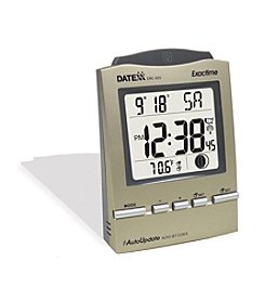 Datexx® Sentina Radio Control Desk Alarm Clock