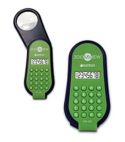 Datexx® Sentina 8-Digit Calculator with Magnifier