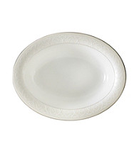 Waterford® Ballet Icing Pearl™ Oval Platter