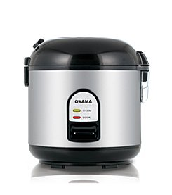 Oyama® 5-cup Stainless Steel Rice Cooker