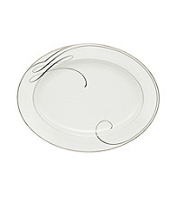 Waterford® Ballet Ribbon Oval Platter