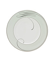 Waterford® Ballet Ribbon Mint Satin Accent Plate