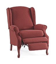 Lane® Hampton High-Leg Burgundy Wing Chair