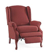 Lane® Hampton High-Leg Burgundy Wing Chair