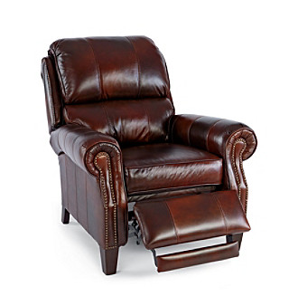 Lane® Hogan High-Leg Brown Recliner