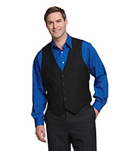 Kenneth Cole REACTION® Men's Solid Vest - Black