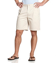 Nautica® Men's Deep Pleated Shorts - True Stone