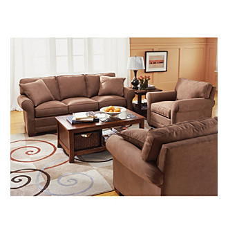 product hm richards benson khaki microfiber living room